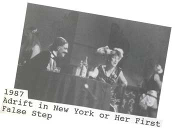 1987 - Adrift in New York or Her First False Step