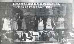 Eltham's First Major Production, 'Pirates of Penzance', 1959